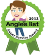 Angies LIst Superior Service Award